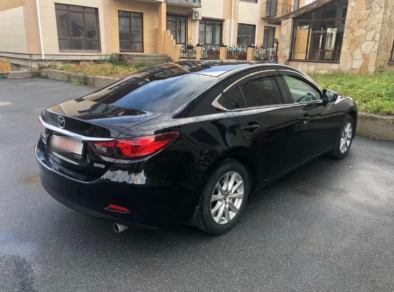 Деньги под залог авто Mazda 6
